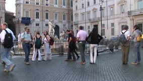 title: Rome Tourists