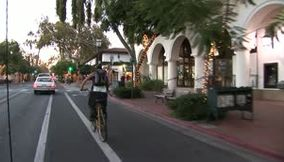 title: Santa Barbara Christmas time California USA