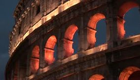 title: The Colosseo  by night Colosseum  Le Colisee