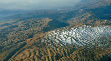 title: Lebanon Mountains first snow From the sky
