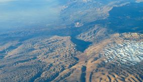 Snowy Hills and Mountain Valleys of Lebanon