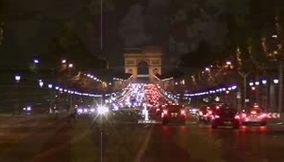 title: Paris Arc de Triomphe Avenue des Champs Elysees