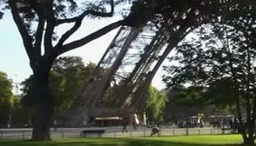 Paris Tour Eiffel from different perspectives