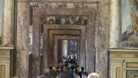 title: Vatican City arts  crowded