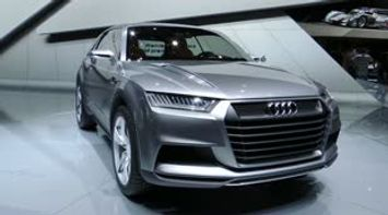 title: Video of the Audi at the Paris Car Show 2012 France