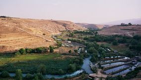 title: El Assi River in Lebanon