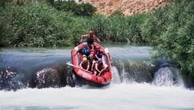Adrenaline rush in El Assi River