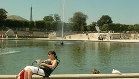 title: Lounging in Jardin des Tuileries