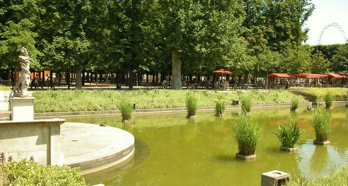 title: Fountain at the Jardin des Tuileries