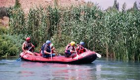 Rafting adventure in Nahr El Assi