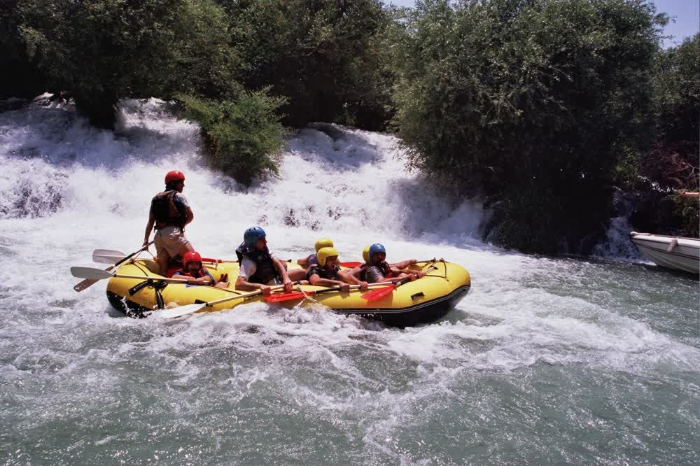 title: The thrill of rafting in Al Assi River Lebanon