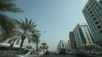 title: Video of Abu Dhabi Scenes on the Road
