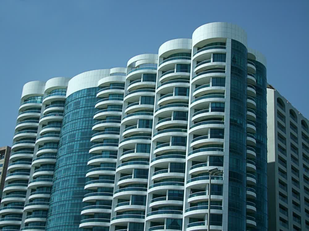 title: Beautiful Structure of Innovative Building in Abu Dhabi