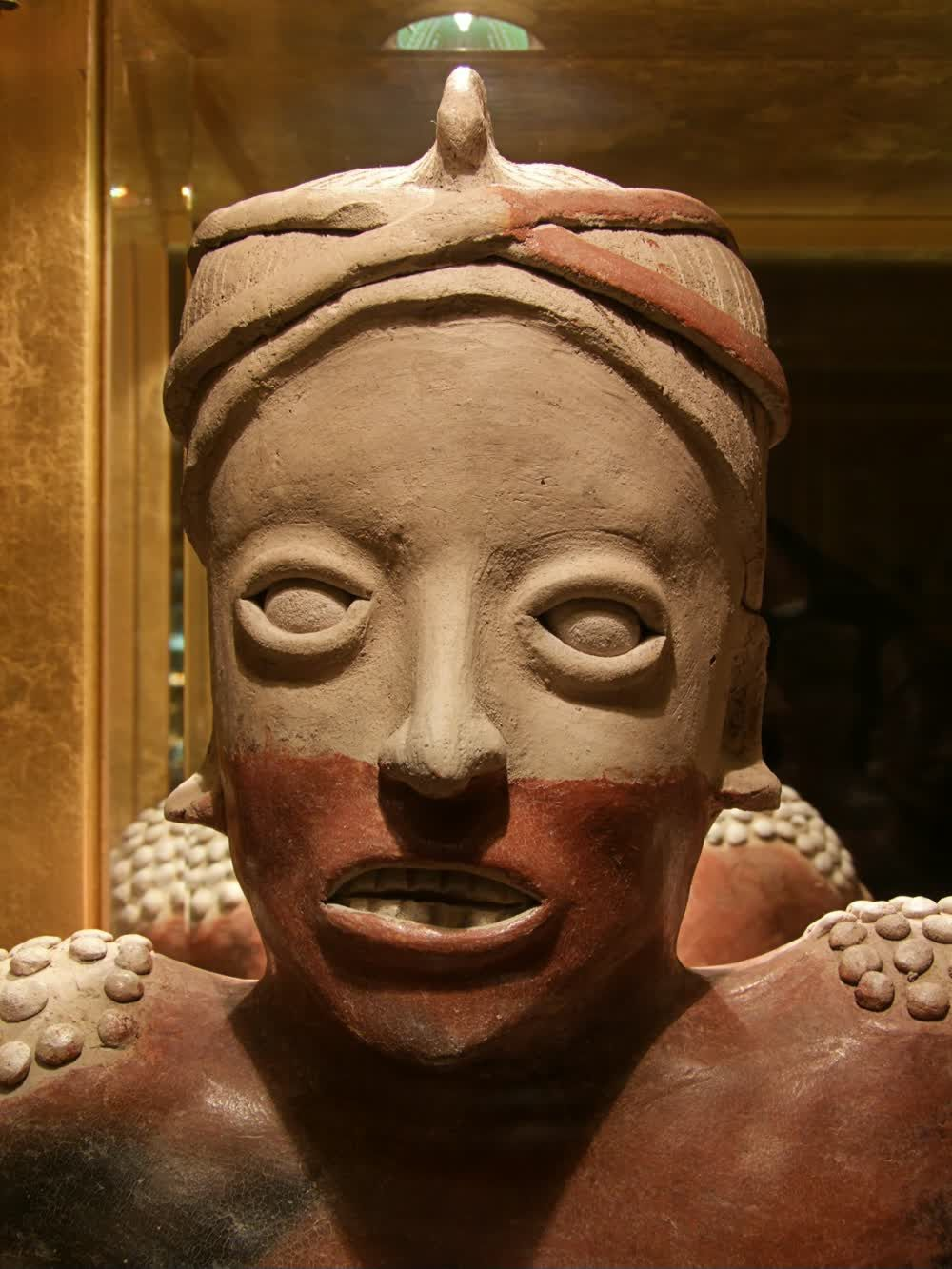 title: Ethiopian Head Bust at the Emirates Hotel Art Showcase