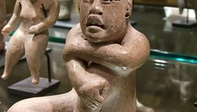 Naked Stone Sculptures of Old Cultures