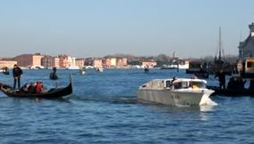 title: A relaxing cruise along the Grand Canal of Venice