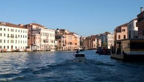 title: Venice between land and water