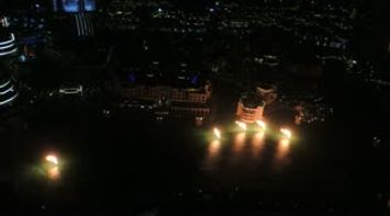 Discover Dubai Dubai Fountains on Fire
