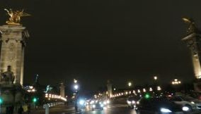 title: Pont Alexandre III Paris By Night France
