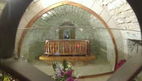 The church of Saint Charbel tomb