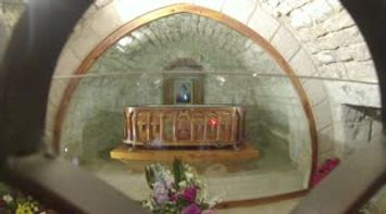 title: The church of Saint Charbel tomb