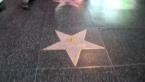 title: Walk of fame Hollywood USA