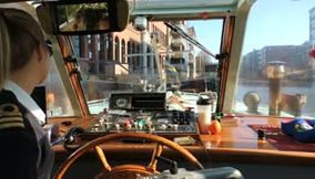 Amsterdam Boat trip on the canal with the amazing Captain