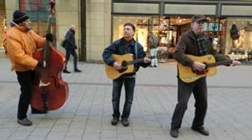 title: Talented Street Musicians Playing Country Music Video