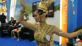title: Thailand Tradional Dance at ITB Berlin Germany 2013