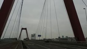 Willems Bridge Rotterdam Netherlands