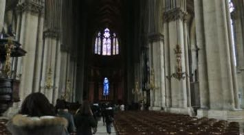 title: Cathedral of Reims or Notre Dame de Reims France
