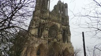title: Cathedral of Reims or Notre Dame de Reims la Cathedrale A Visiter France