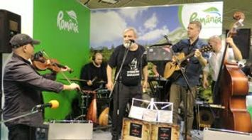 Romania Stand at ITB Berlin Music Band