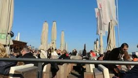 title: Video of People Enjoying their Lunch on Sunny Day in Alex Pavillon Restaurant