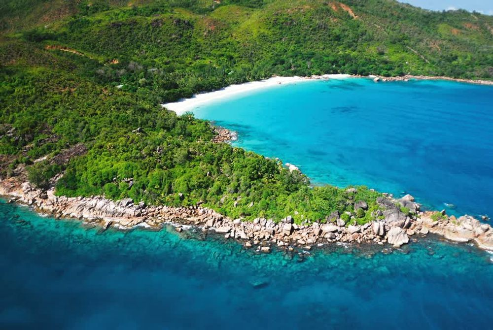 title: Bay Of Anse Lazio Seychelles Landscapes
