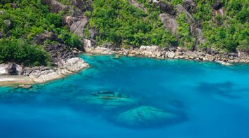 title: Mahe West Coast Seychelles Landscapes