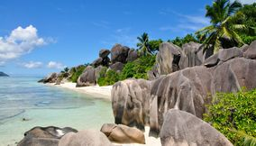 Anse Source D Argent one of the best beaches in the world Seychelles