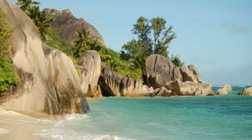 Anse Source d Argent ideal for snorkeling and sun bathing Seychelles