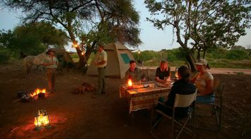 title: Camping in Northern Tuli Game Reserve Botswana