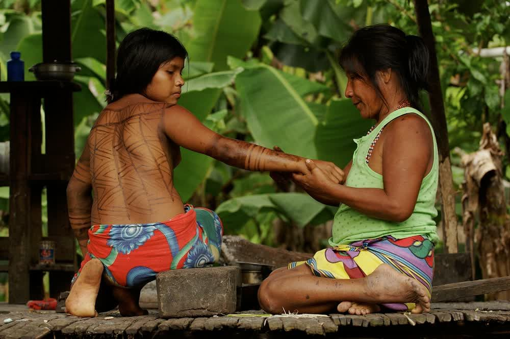 title: Design on the skin Culture Panama