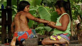 Design on the skin Culture Panama