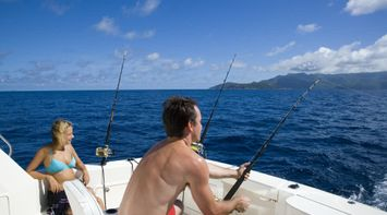 Fishing a relaxing activity Seychelles