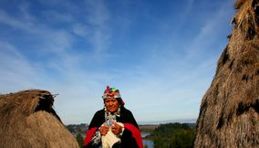 title: Lago Budi Knitting CHILE