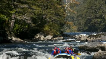 Pucon Rafting Rio Trancura CHILE