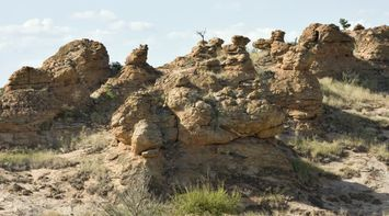 Rocks Northern Tuli Game Reserve Botswana