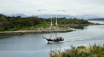 title: Sailing boat CHILE Patagonia