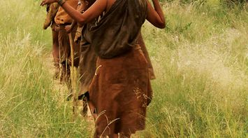 title: Tribes in Central Kalahari Game Reserve