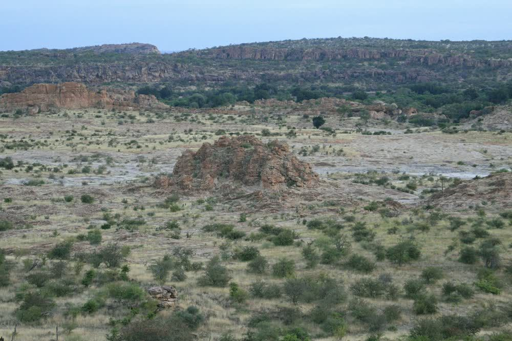 title: Weird rocks Northern Tuli Game Reserve Botswana