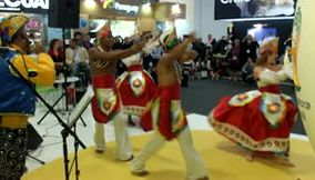 Brazil Folk Dances at ITB Berlin Germany