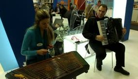title: Rhodos greece traditional music at Greece Stand ITB Berlin Germany